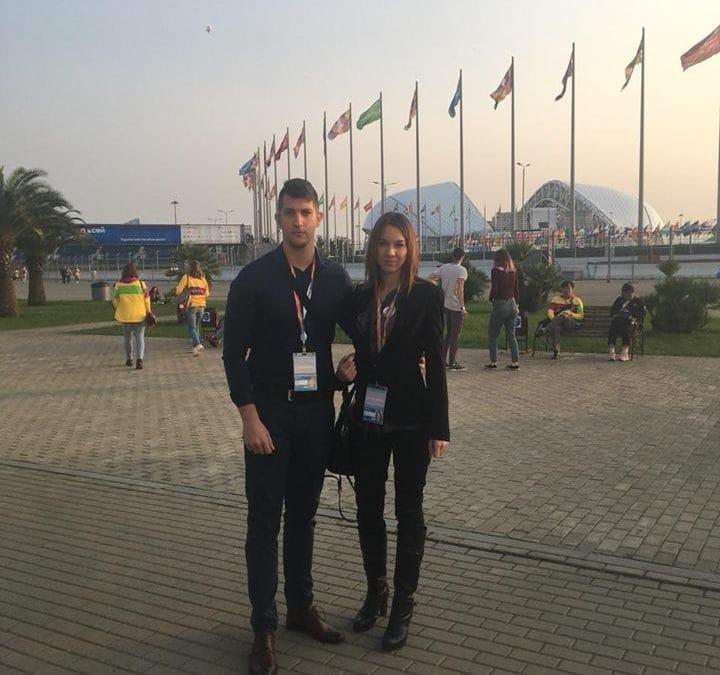 Национална авангарда на 19. Фестивалу омладине и студената  у Сочију