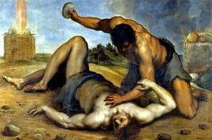 Kain ubija brata Avelja