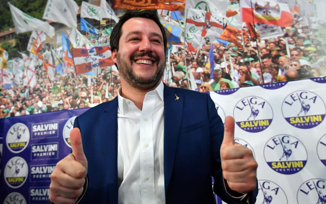 Major success of anti-establishment and the right-wing parties in Italy