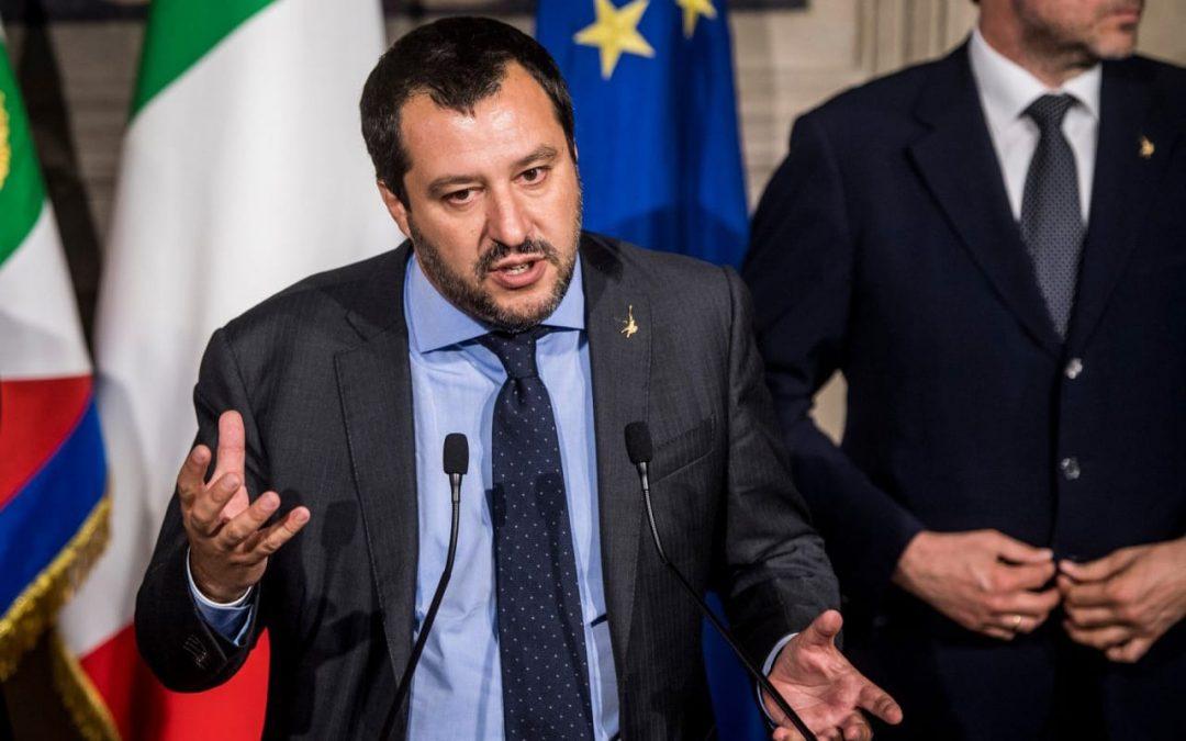 Salvini says he wants European association of nationalist parties