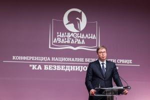 Aleksandar Vucic konferencija nacionalna avangarda