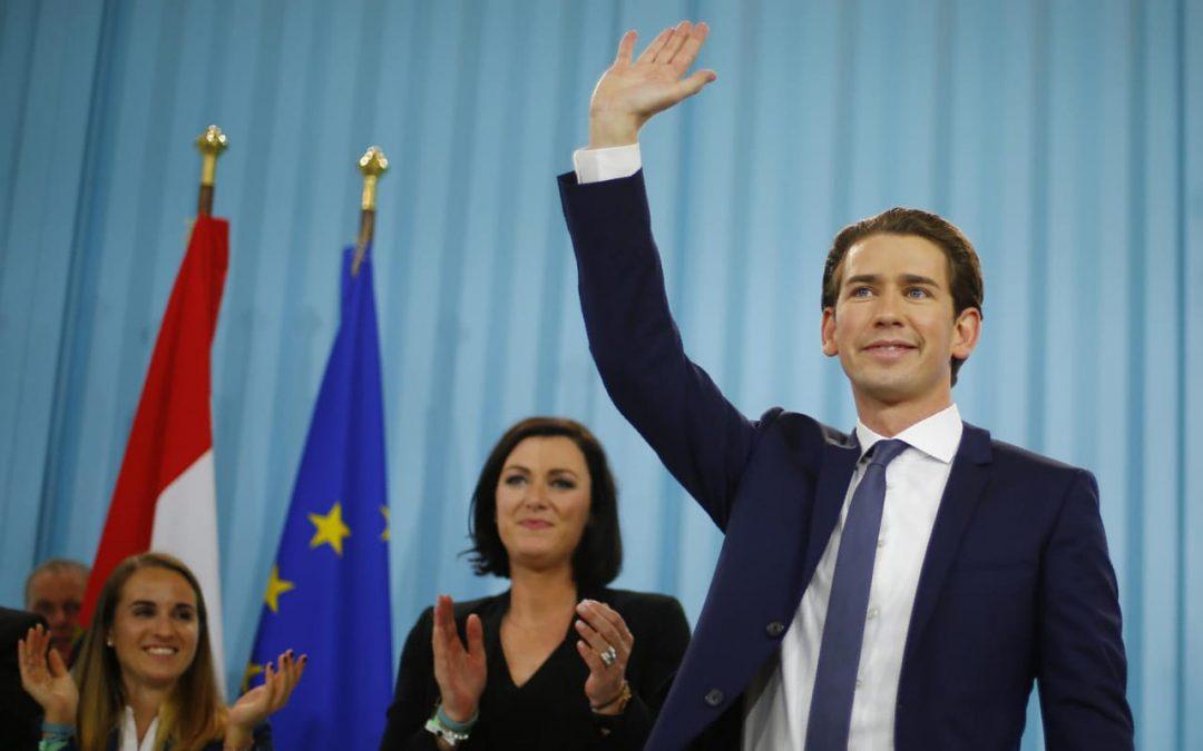 Победа Себастијана Курца на изборима