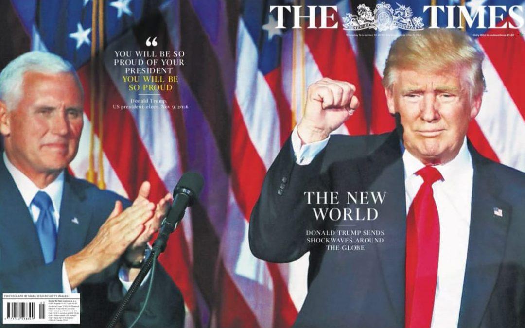 Donald Trump won the 2016 election