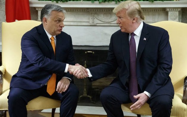 Donald Trump: Victor Orban is like me