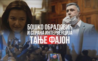 Бошко Обрадовић и страна интервенција Тање Фајон