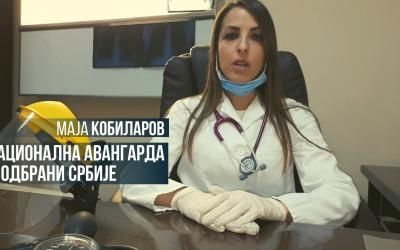 Национална авангарда у одбрани Србије – Маја Кобиларов