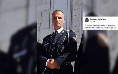 Осуђујемо политичко хапшење официра Војске Црне Горе Здравка Касалице